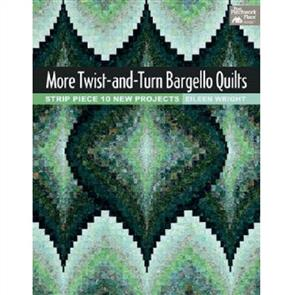 MISC More Twist-and-Turn Bargello Quilts - Eileen Wright