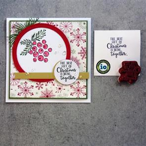 Impression Obsession Stamp - The Best Gift Of Christmas