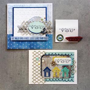 Impression Obsession Stamps - Celebrating You