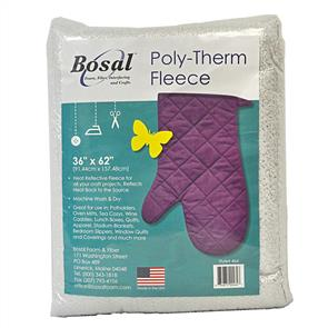 Bosal Poly-Therm Heat Reflective Fleece