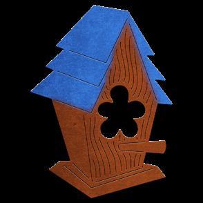 Cheery Lynn Dies - Whimsical Birdhouse