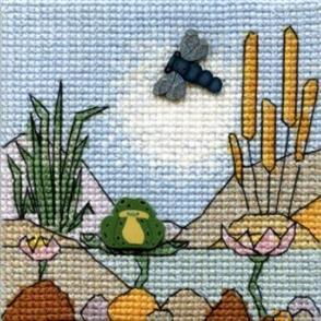 Michael Powell  Creative Cross Stitch Kit: Pond