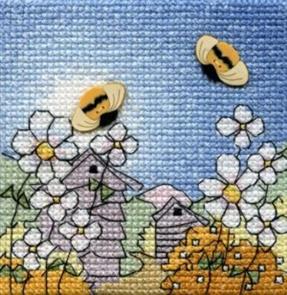 Michael Powell  Creative Cross Stitch Kit: Bees