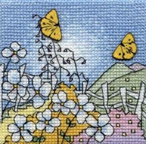 Michael Powell  Creative Cross Stitch Kit: Butterflies