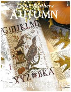 Blackbird Designs  Loose Feathers - Autumn