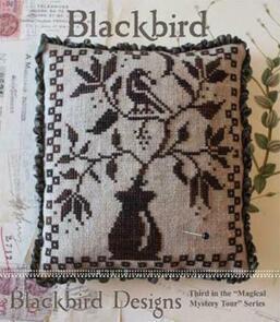 Blackbird Designs  Blackbird Pincushion