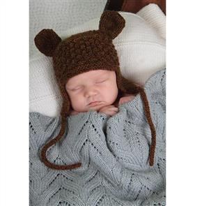 Lisa F  Baby Cakes BC23 Little Bear Hat