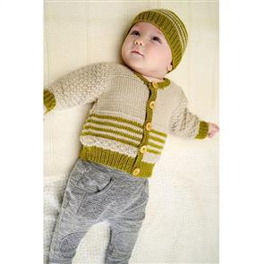 Lisa F Baby Cakes BC70 Eden Cardi and Hat