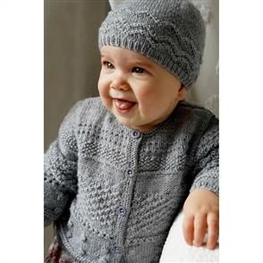 Lisa F  Baby Cakes - Frankie Cardi and Hat - Bc91