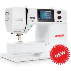 Bernina 475 Sewing Machine - Quilters Edition