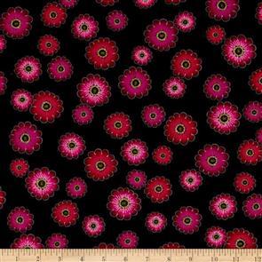 Benartex  Floral Philosophy - 6300 Pink