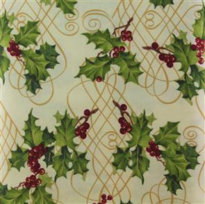 Blue Hill  Fabric - Holiday Wishes - 8284 Cream