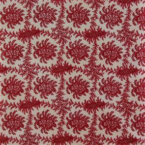 Blue Hill  Fabric - The Lancaster Collection - 8281 Red