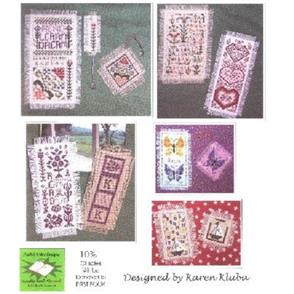 Rosewood Manor  Cross Stitch Designs - Read, Learn, Dream Bookmarks