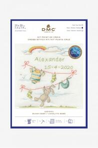 DMC  New Baby Cross Stitch Kit Bunny Rabbit
