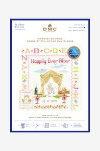 DMC  Happily Ever After Cross Stitch Kit