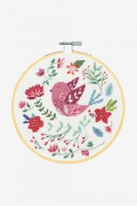 DMC Folk Bird Cross-Stitch Kit