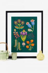 DMC Garden Cross-Stitch Kit