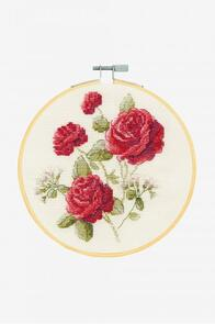 DMC Roses Cross-Stitch Kit
