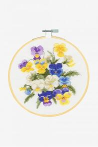 DMC Violettes Cross-Stitch Kit
