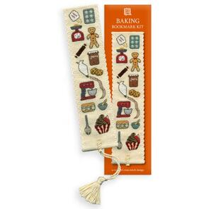 Textile Heritage  Bookmark Cross Stitch Kit - Baking