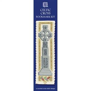 Textile Heritage  Bookmark Cross Stitch Kit - Celtic Cross