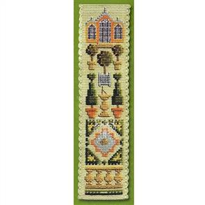 Textile Heritage  Counted Cross Stitch Bookmark Kit - Orangery