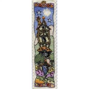 Michael Powell Bookmark Cross Stitch Kit: Tall Timber House