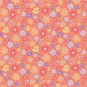 Benartex  Meadow Dance - 4045 Orange