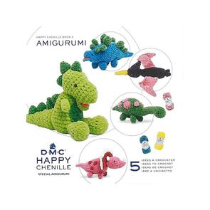 DMC  Happy Chenille Amigurumi Book 2 Fearsome Dinosaurs!