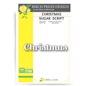 Birch Press  Christmas Sugar Script