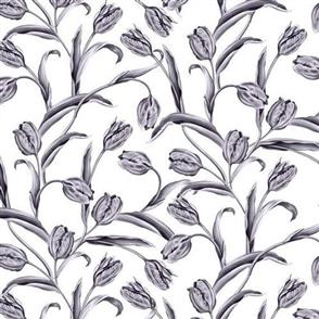 Blank Quilting  Florella - 9347 Grey