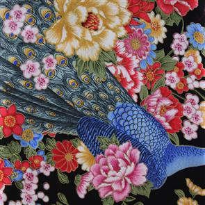 Blank Quilting  Perfect Peacock - 7151 Black
