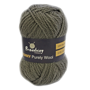 Broadway Chunky Purely Wool 12ply