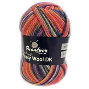 Broadway Yarns  Purely Wool Fantasy 8 Ply