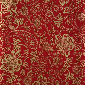 Benartex  Tapestry Floral - 6419 Red
