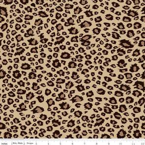 Riley Blake  On Safari - Leopard Brown