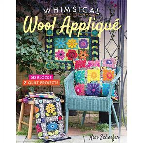 C&T Publishing Whimsical Wool Applique - Kim Schaefer