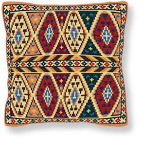Brigantia  Needlework: Inca Tapestry Cushion Kit