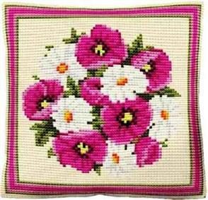 Brigantia Needlework: Brodie Tapestry Cushion Kit