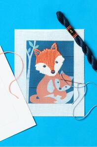 DMC Gaspar The Fox Straight Stitch Kit