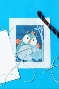 DMC Filou The Owl Straight Stitch Kit