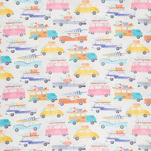 Blank Quilting  Fabric - Beach Bound 1448.90 - Multicoloured