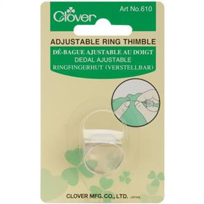 Clover Ring Thimble Adjustable