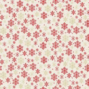Makower Scandi Snow - 2358 - Christmas - Cream