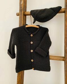 The Kiwi Stitch & Knit Co  Jessie Jacket and Hat Pattern - 0 - 3 years