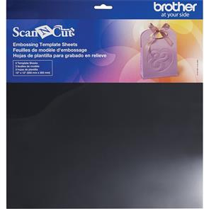Brother  Embossing Template Sheets