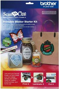 Brother  Printable Sticker Starter Kit