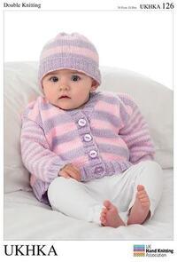 UKHKA Pattern 126 - Cardigan & Hat