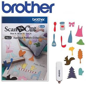 Brother  Applique Pattern Collection